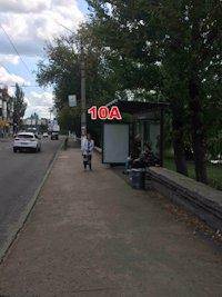 Остановка №187331 в городе Славянск (Донецкая область), размещение наружной рекламы, IDMedia-аренда по самым низким ценам!