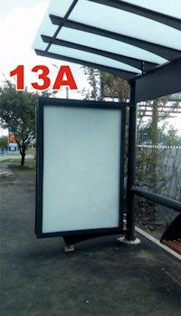 Остановка №187337 в городе Славянск (Донецкая область), размещение наружной рекламы, IDMedia-аренда по самым низким ценам!