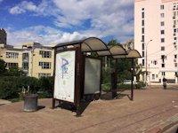 Остановка №187435 в городе Киев (Киевская область), размещение наружной рекламы, IDMedia-аренда по самым низким ценам!
