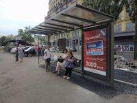 Остановка №187454 в городе Киев (Киевская область), размещение наружной рекламы, IDMedia-аренда по самым низким ценам!