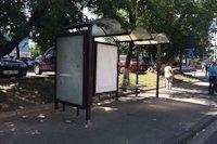 Остановка №187480 в городе Киев (Киевская область), размещение наружной рекламы, IDMedia-аренда по самым низким ценам!