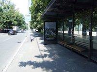 Остановка №187502 в городе Киев (Киевская область), размещение наружной рекламы, IDMedia-аренда по самым низким ценам!