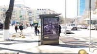 Остановка №187508 в городе Киев (Киевская область), размещение наружной рекламы, IDMedia-аренда по самым низким ценам!