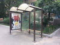 Остановка №187517 в городе Киев (Киевская область), размещение наружной рекламы, IDMedia-аренда по самым низким ценам!