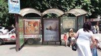 Остановка №187556 в городе Киев (Киевская область), размещение наружной рекламы, IDMedia-аренда по самым низким ценам!
