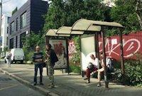 Остановка №187573 в городе Киев (Киевская область), размещение наружной рекламы, IDMedia-аренда по самым низким ценам!