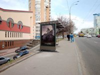 Остановка №187587 в городе Киев (Киевская область), размещение наружной рекламы, IDMedia-аренда по самым низким ценам!
