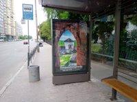 Остановка №187588 в городе Киев (Киевская область), размещение наружной рекламы, IDMedia-аренда по самым низким ценам!
