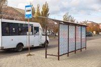 Остановка №189861 в городе Бердянск (Запорожская область), размещение наружной рекламы, IDMedia-аренда по самым низким ценам!