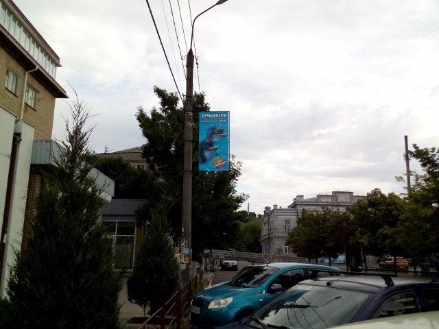 Холдер №189866 в городе Бердянск (Запорожская область), размещение наружной рекламы, IDMedia-аренда по самым низким ценам!