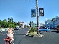 Холдер №189949 в городе Бердянск (Запорожская область), размещение наружной рекламы, IDMedia-аренда по самым низким ценам!