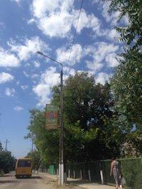 Холдер №190134 в городе Бердянск (Запорожская область), размещение наружной рекламы, IDMedia-аренда по самым низким ценам!