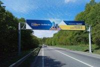 Арка №190913 в городе Львов трасса (Львовская область), размещение наружной рекламы, IDMedia-аренда по самым низким ценам!