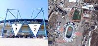 Брандмауэр №190957 в городе Харьков (Харьковская область), размещение наружной рекламы, IDMedia-аренда по самым низким ценам!