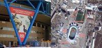 Брандмауэр №190970 в городе Харьков (Харьковская область), размещение наружной рекламы, IDMedia-аренда по самым низким ценам!