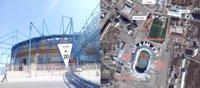 Брандмауэр №190973 в городе Харьков (Харьковская область), размещение наружной рекламы, IDMedia-аренда по самым низким ценам!