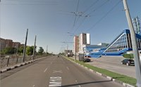 Брандмауэр №190986 в городе Харьков (Харьковская область), размещение наружной рекламы, IDMedia-аренда по самым низким ценам!