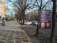 Ситилайт №191110 в городе Черкассы (Черкасская область), размещение наружной рекламы, IDMedia-аренда по самым низким ценам!