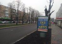 Ситилайт №191125 в городе Черкассы (Черкасская область), размещение наружной рекламы, IDMedia-аренда по самым низким ценам!