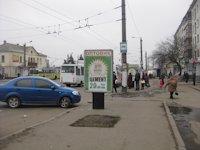Ситилайт №192484 в городе Житомир (Житомирская область), размещение наружной рекламы, IDMedia-аренда по самым низким ценам!