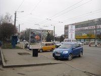 Ситилайт №192485 в городе Житомир (Житомирская область), размещение наружной рекламы, IDMedia-аренда по самым низким ценам!