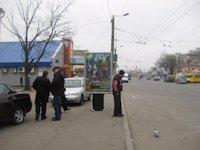 Ситилайт №192487 в городе Житомир (Житомирская область), размещение наружной рекламы, IDMedia-аренда по самым низким ценам!