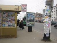 Ситилайт №192489 в городе Житомир (Житомирская область), размещение наружной рекламы, IDMedia-аренда по самым низким ценам!