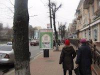 Ситилайт №192494 в городе Житомир (Житомирская область), размещение наружной рекламы, IDMedia-аренда по самым низким ценам!