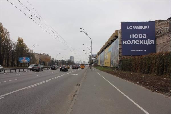 Брандмауэр №192781 в городе Киев (Киевская область), размещение наружной рекламы, IDMedia-аренда по самым низким ценам!