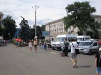 Ситилайт №192816 в городе Одесса (Одесская область), размещение наружной рекламы, IDMedia-аренда по самым низким ценам!