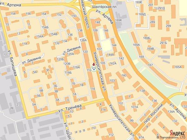 IDMedia Арендовать и разместить Бэклайт в городе Донецк (Донецкая область) №193 схема
