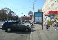 Ситилайт №199323 в городе Винница (Винницкая область), размещение наружной рекламы, IDMedia-аренда по самым низким ценам!
