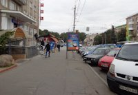 Ситилайт №199324 в городе Винница (Винницкая область), размещение наружной рекламы, IDMedia-аренда по самым низким ценам!