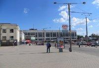 Ситилайт №199786 в городе Запорожье (Запорожская область), размещение наружной рекламы, IDMedia-аренда по самым низким ценам!