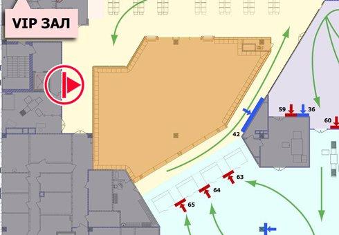 IDMedia Арендовать и разместить Indoor в городе Киев (Киевская область) №199921 схема