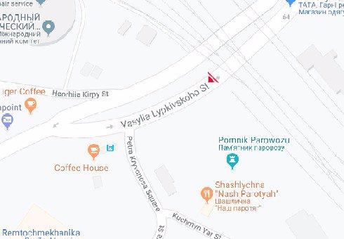 IDMedia Наружная реклама в городе Киев (Киевская область), Брандмауэр в городе Киев №200510 схема