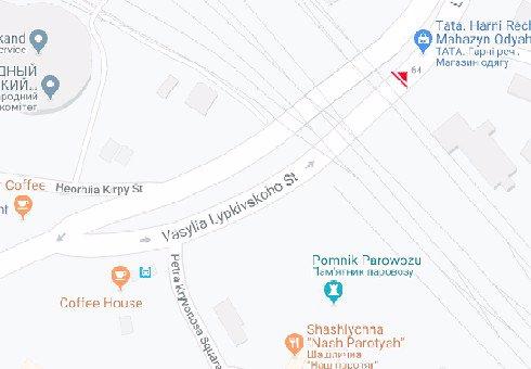 IDMedia Наружная реклама в городе Киев (Киевская область), Брандмауэр в городе Киев №200511 схема