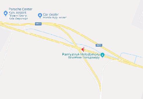 IDMedia Наружная реклама в городе Киев (Киевская область), Брандмауэр в городе Киев №200516 схема