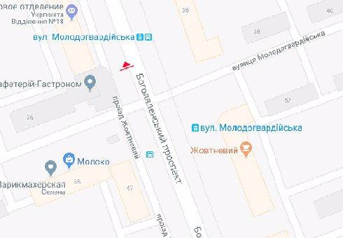 IDMedia Наружная реклама в городе Николаев (Николаевская область), Бэклайт в городе Николаев №201067 схема
