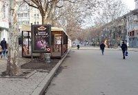 Ситилайт №201073 в городе Николаев (Николаевская область), размещение наружной рекламы, IDMedia-аренда по самым низким ценам!