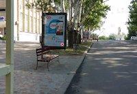 Ситилайт №201078 в городе Николаев (Николаевская область), размещение наружной рекламы, IDMedia-аренда по самым низким ценам!