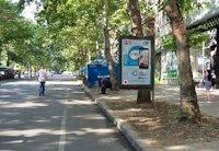 Ситилайт №201084 в городе Николаев (Николаевская область), размещение наружной рекламы, IDMedia-аренда по самым низким ценам!