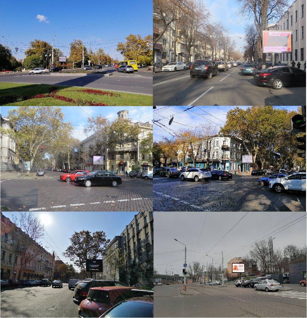 Экран №201115 в городе Одесса (Одесская область), размещение наружной рекламы, IDMedia-аренда по самым низким ценам!