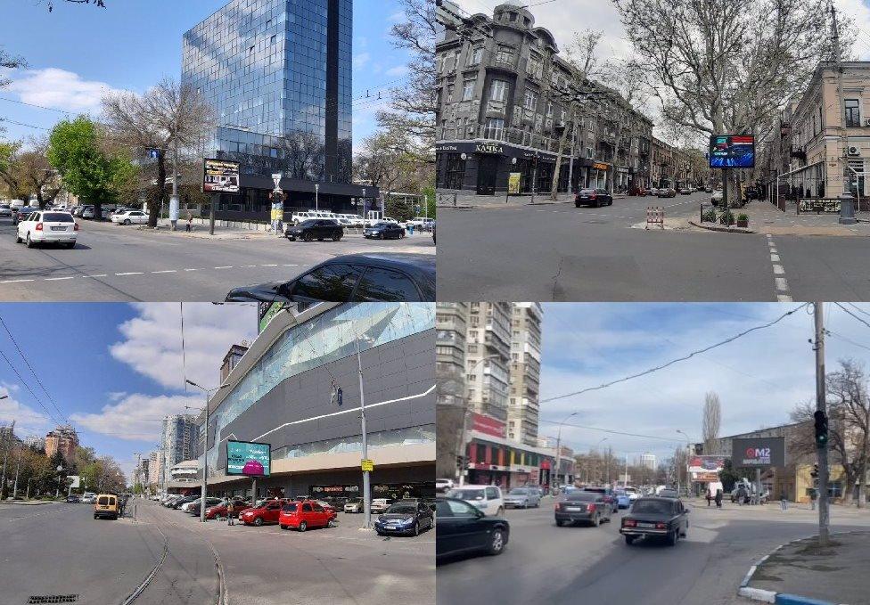 IDMedia Арендовать и разместить Экран в городе Одесса (Одесская область) №201116 схема