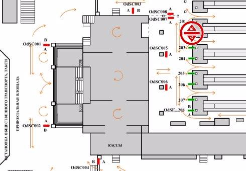 IDMedia Арендовать и разместить Indoor в городе Одесса (Одесская область) №201977 схема
