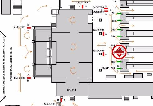 IDMedia Арендовать и разместить Indoor в городе Одесса (Одесская область) №201986 схема