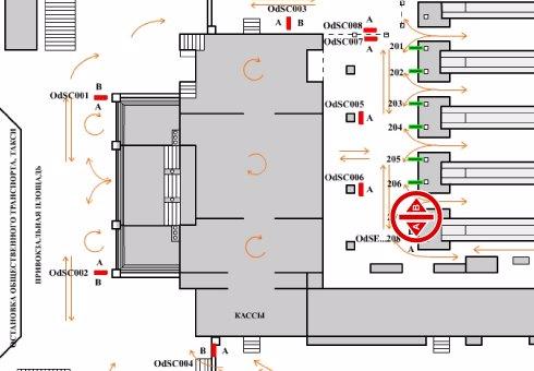 IDMedia Арендовать и разместить Indoor в городе Одесса (Одесская область) №201987 схема