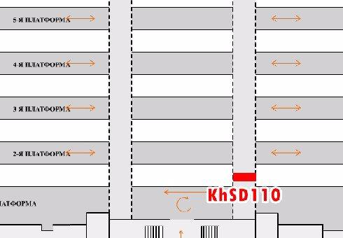 IDMedia Наружная реклама в городе Харьков (Харьковская область), Indoor в городе Харьков №202464 схема