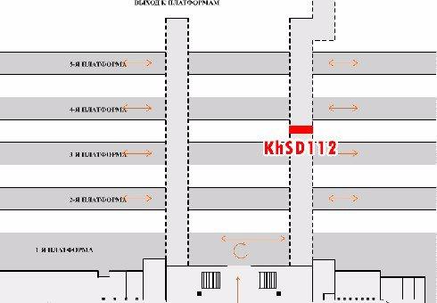IDMedia Арендовать и разместить Indoor в городе Харьков (Харьковская область) №202466 схема