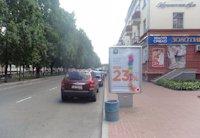 Ситилайт №202792 в городе Чернигов (Черниговская область), размещение наружной рекламы, IDMedia-аренда по самым низким ценам!
